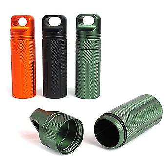 IPRee Outdoor CNC wasserdichte Pille Aufbewahrung Fall EDC Dichtung Canister Survival Notfall-Container