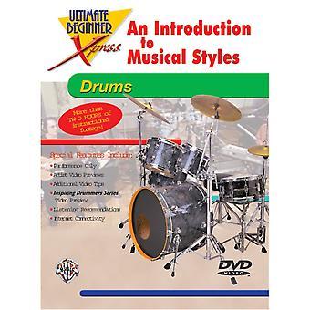 Ultimate Beginner Xpress: Eine Einführung in Musikstile für Schlagzeug
