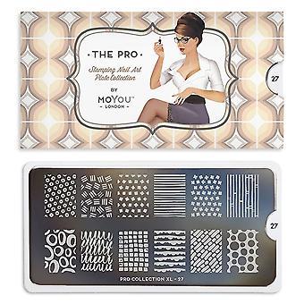 MoYou London Nail Art Image Plate - Pro Xl 27 (692537)