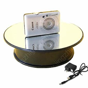 Rotating Turntable Decorating Revolving Modelling Tool, Display Stand Plate