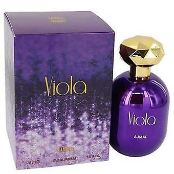 Ajmal Viola door Ajmal Eau De Parfum Spray 2.5 Oz (vrouwen) V728-542166