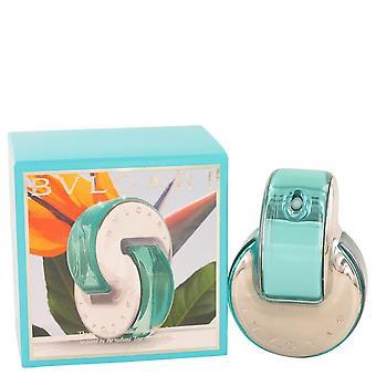 Omnia Paraiba Eau De Toilette Spray por Bvlgari 2.2 oz Eau De Toilette Spray