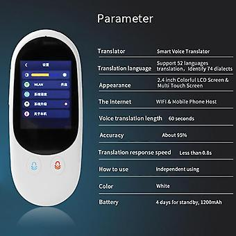 Touch Screen Wifi Smart Support Offline Translation