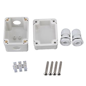 Outdoor Plastic Electric Project Box White
