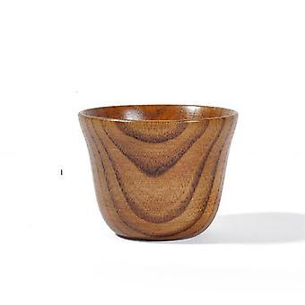Handgemachte natürliche Fichte Holz Tassen