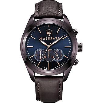 Maserati R8871612008 Traguardo Chronograph Dial Men's Watch