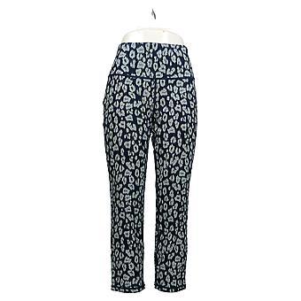 Vrouwen met Control Women's Petite Jeans Prime Reversible Ankle Blue A366041