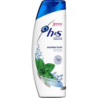 H&S Menthol Shampooing 540 ml