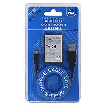 Uppladdningsbara Litiumjonbatterier för trådlös Handkontroll sony Playstation4