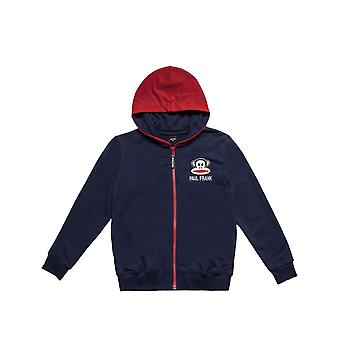 Alouette Boys' Jacket With Embroidery In Front And Printing In The Back