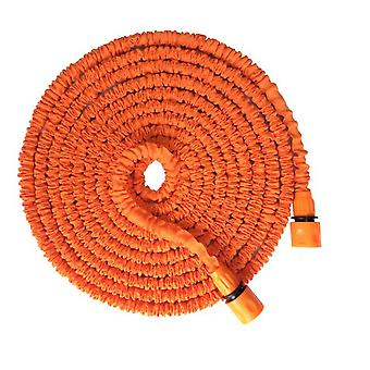 25ft-100ft Expandable Flexible Garden Hose Water Pipe With Spray Gun