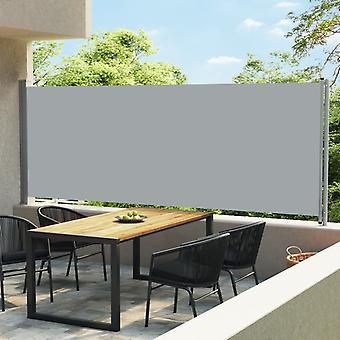 vidaXL Laajennettava sivukolma 600x170 cm Harmaa
