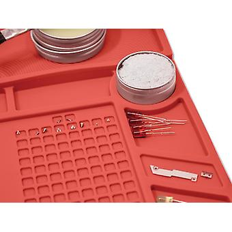 Weller Soldering Work Station Mat 546 x 349mm (21.6 x 13.8in) WLACCWSM1-02