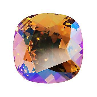 Kryształ Swarovskiego, #4470 Poduszka Fancy Stone 12mm, 1 Kawałek, Light Colorado Topaz Shimmer