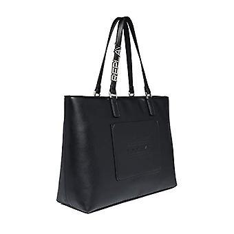 REPLAY FW3088، حقيبة يد نسائية، 098 أسود، يونيك