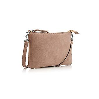 The Handbag Edit Small Crossbody - Women's Crossbody Bags, Beige (Taupe), 1x23.5x15 cm (W x H L)