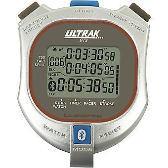 Ultrak BTS Bluetooth Stopwatch with Smartphone App - Silver