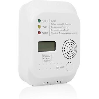 RM370 Kohlenmonoxid CO Melder mit Display und Temperaturanzeige, Prüftaste, 1 Stück