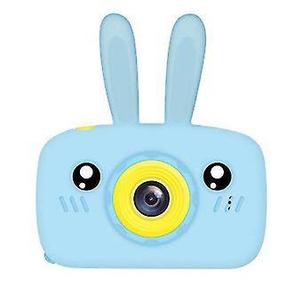 Rabbit blue portable full-hd 1080p digital mini camera for kids child az944