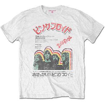 Pink Floyd - Japansk Plakat Unisex Lille T-shirt - Hvid