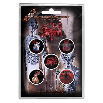 Death - Albums Button Badge Pack