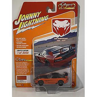 2008 Dodge Viper SRT10 ACR Viper Bright Orange Johnny Lightning 1:64 JLCG021A