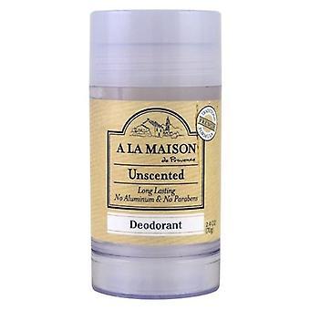 A La Maison Unscented Deodorant, 2.4Oz