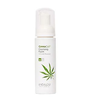 Andalou Naturals CannaCell Cleansing Foam, 5.5 Oz