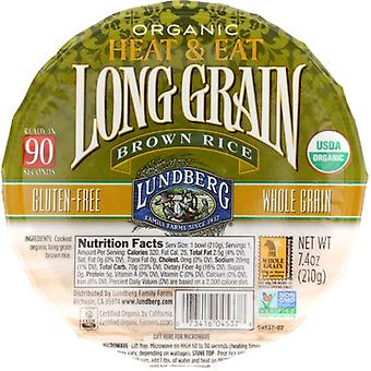 Lundberg Rice Bowl Rte Lng Grn Brw, Case of 12 X 7.4 Oz