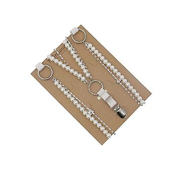 Style Pearl Belt, Sweet Suspender Fashion Match Accessories