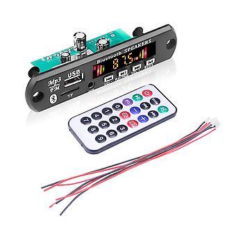 Amplificateur mains libres, carte décodeur, lecteur de voiture Bluetooth, module d'enregistrement USB,
