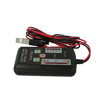 Em272 lambda tester and simulator zirconia titania sensors ecu test 1,2,3 4 wires