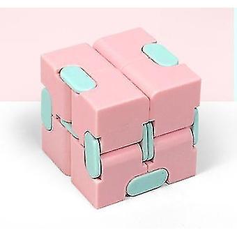 Kostka Rubika Dekompresja Toy Pocket Drugie zamówienie Rubik's Cube Edukacyjna Toy (Różowy)