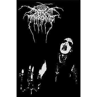 Darkthrone Poster Transilvanian Hunger new Official Black Textile 70cm x 106cm