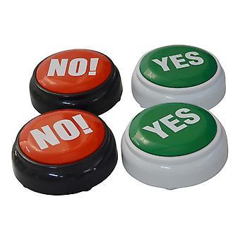 Elektroniczne rozmowy Tak, Nie Dźwięk Button Toy, Event Party Supplies, Mózg