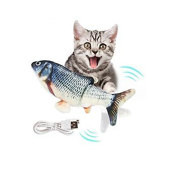 Electric Fish Cat Toy, Moving Cat Kicker Fish Toy