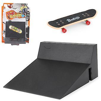 Kit de escada do Fingerboard Rail Park, Mini Skates stairs, Jogo de Tabuleiro de Treinamento