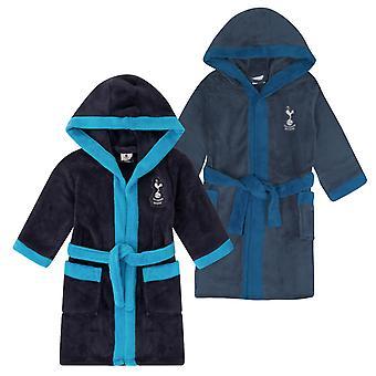 Тоттенхэм Хотспур Мальчики платье Роб с капюшоном Fleece OFFICIAL футбольный подарок