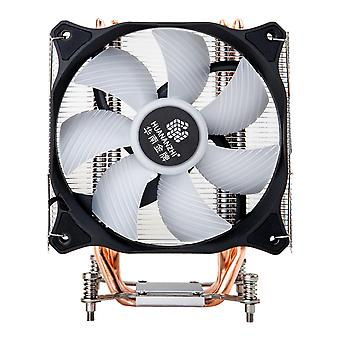Cupru țeavă de căldură Cooler ventilator de răcire Radiator Quiet SINGLE Ventilator Cooler radiator