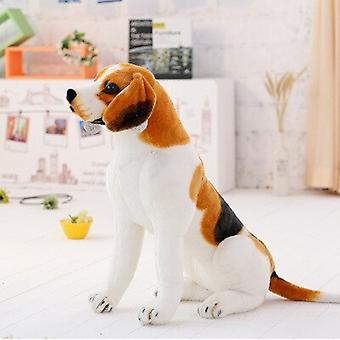 50CM لطيف العملاق الكبير الحجم بيغل الكلب أفخم لعبة واقعية محشوة الحيوانات الكلب هدية للأطفال الرئيسية