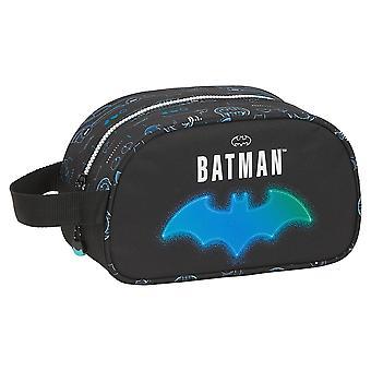 School Toilet Bag Batman Bat-Tech Black (12 L)