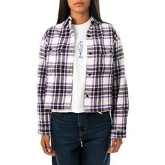 Camicia donna obey camille flannel shirt l/s 281200110.sgo