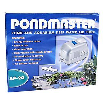 Pondmaster Pond & Aquarium Deep Water Air Pump - AP 20 (2,500 Gallons - 1,700 Cubic Inches per Minute)