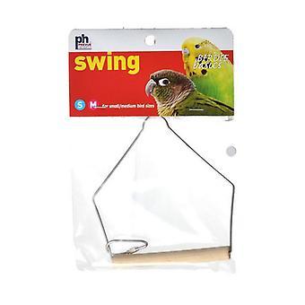 "Prevue Birdie Basics Swing - Small/Medium Birds - 4""L x 5""H"