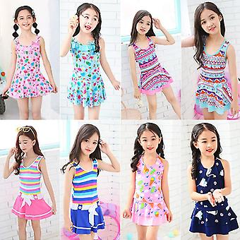 Girl's swimsuit one-piece suit for summer