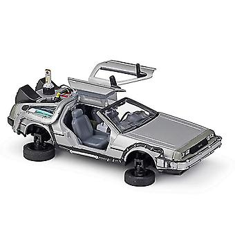 Toy cars 1:24back to the future alloy vehicle pull back car