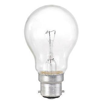 Flood spot lights 10 pack 60w bc b22 clear classic light bulbs  bayonet cap
