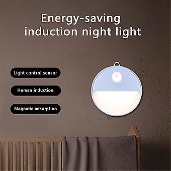 Night lights ambient lighting led wireless pir auto motion sensor infrared night light cabinet stair lamp
