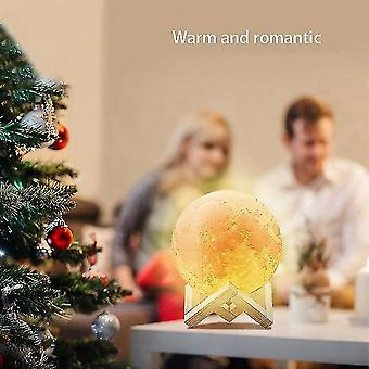 10cm*10cm*10cm Night Light Moon Night Light Led Night Light Remote Control Touch Night Light Dt9053
