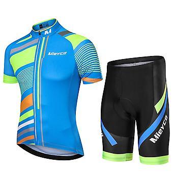 Summer Man Cycling Jerseys Set Anti-uv Vêtements de cyclisme Séchage rapide Maillot Ropa Ciclismo Hombre